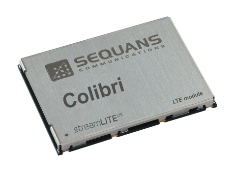 Sequans' Colibri-based LTE module (Photo: Business Wire)