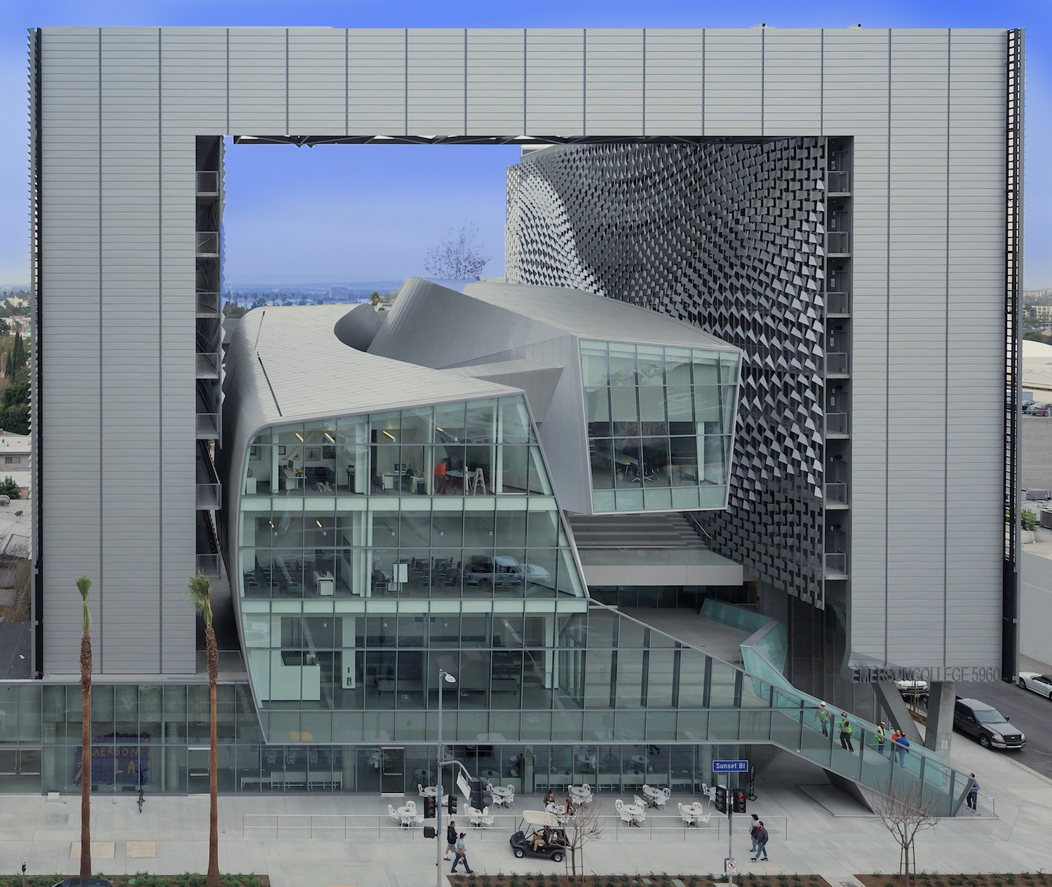 Emerson College Los Angeles >> Emerson College Los Angeles Is 2014 Q Award Recipient Business Wire
