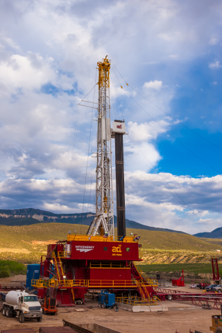 WPX Energy drilled an exploratory well in western Colorado's Niobrara Shale that has already produced more than 2.5 billion cubic feet of natural gas. Photo by Jim Blecha. Courtesy WPX