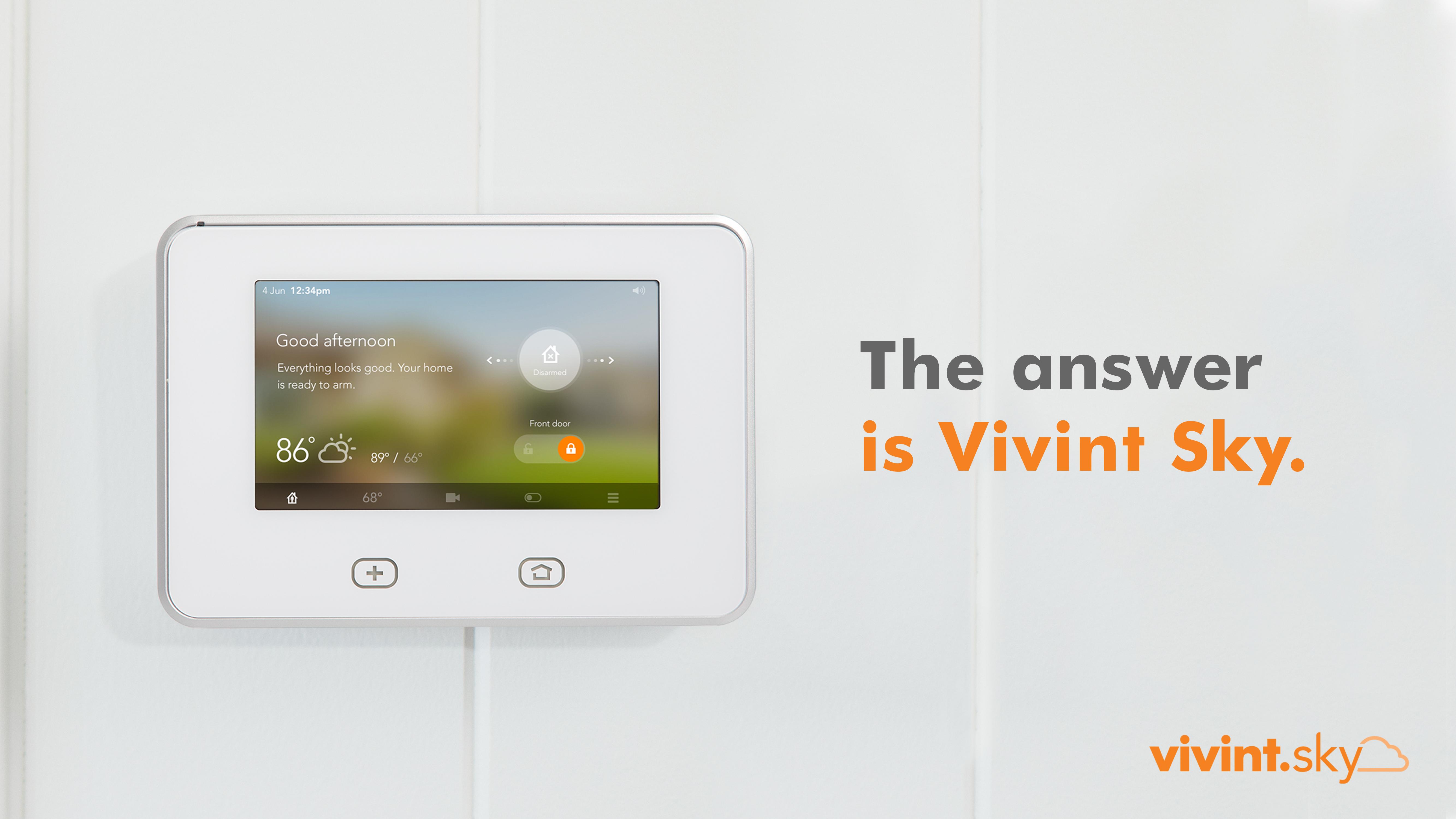 Vivint unveils its next generation smart home solution, Vivint Sky. (Photo: Business Wire)