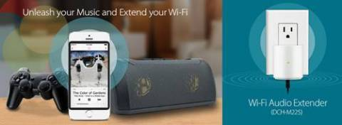 D-Link Wi-Fi Audio Extender (Photo: Business Wire)
