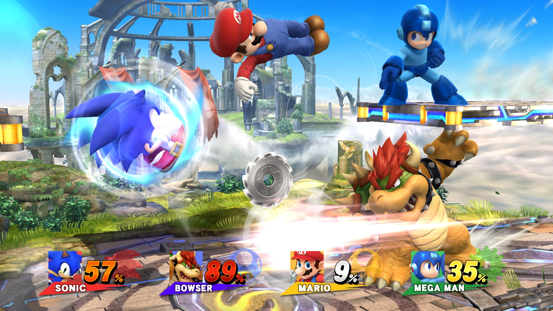 The famed fighting franchise Super Smash Bros. appears for the first time in HD on Wii U this holiday season. (Photo: Business Wire)