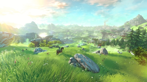 The newest game in The Legend of Zelda franchise, scheduled for 2015, introduces the first truly open world in a game from the series. (Photo: Business Wire)