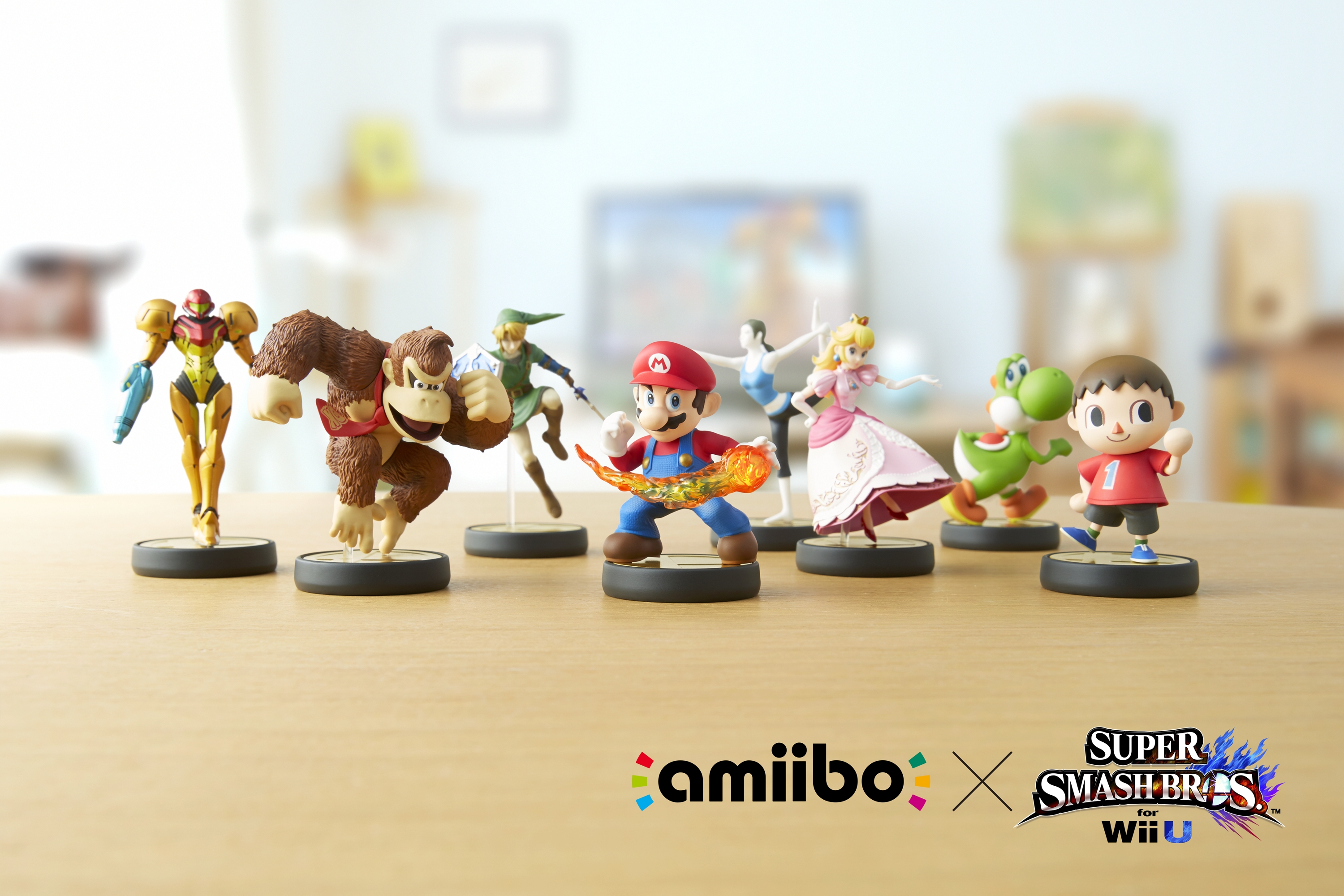 Super Smash Bros. for Wii U will be the first game to support amiibo. Other games that will support amiibo include Mario Kart 8, Captain Toad: Treasure Tracker, Mario Party 10 and Yoshi's Woolly World, with more to come. (Photo: Business Wire)