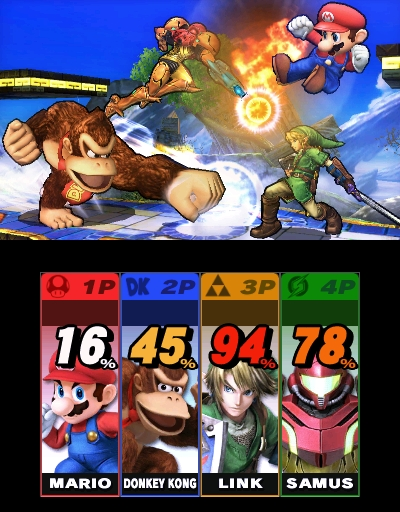 The Nintendo 3DS version of Super Smash Bros. will be available on Oct. 3. (Photo: Business Wire)