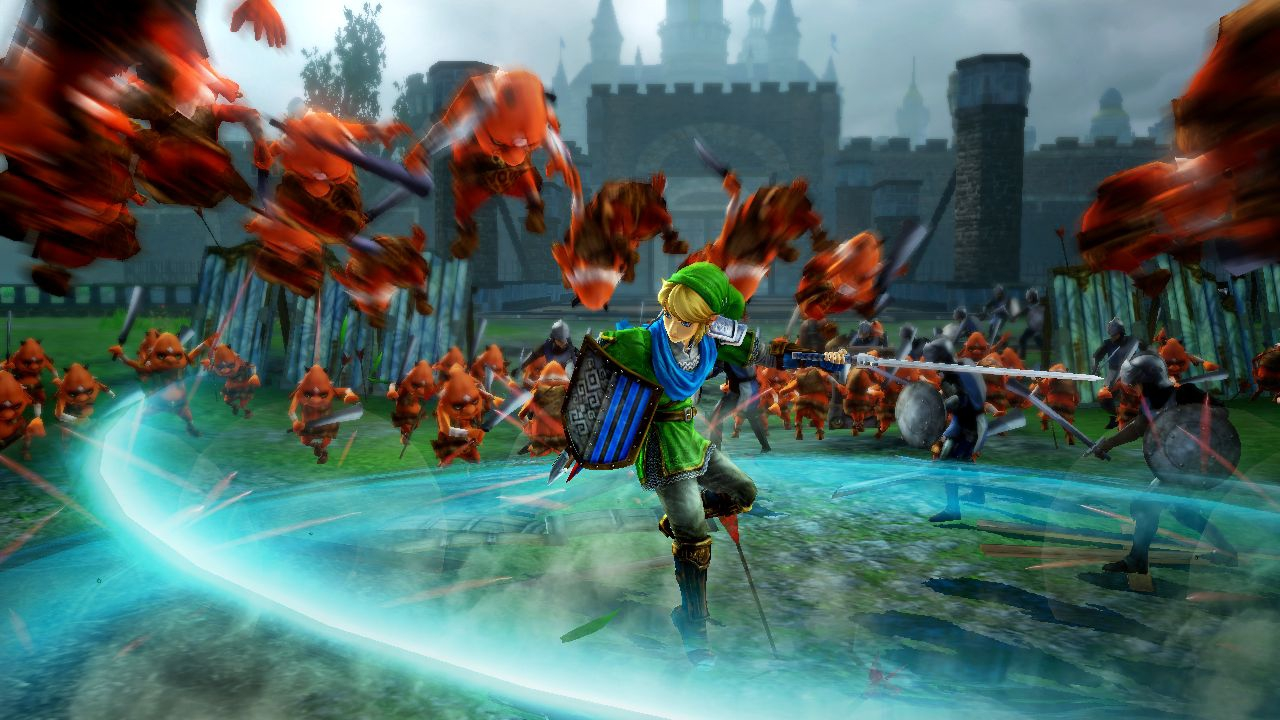 Hyrule Warriors artfully merges the world of The Legend of Zelda and the style of Dynasty Warriors into one legendary hack-and-slash Wii U adventure. (Photo: Business Wire)