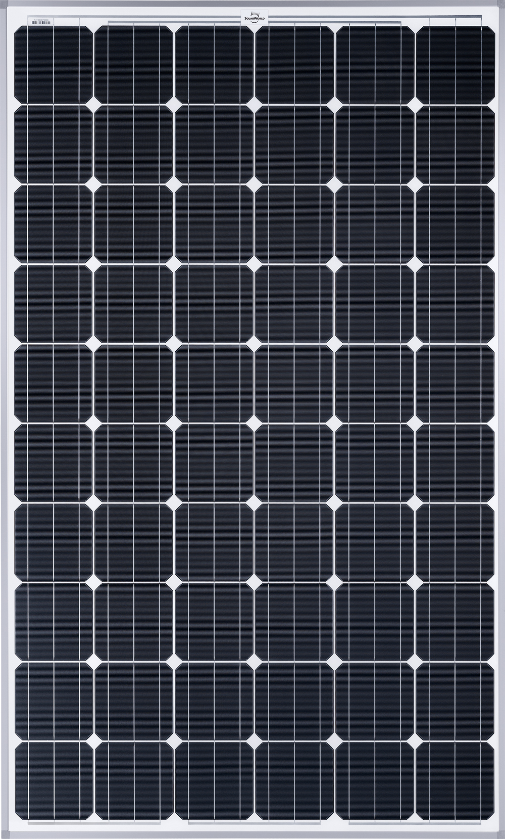SolarWorld is producing 280-watt-peak, 60-cell Sunmodule solar panels at unprecedented commercial volumes. (Photo: Business Wire)
