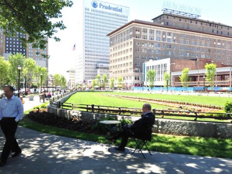 Military Park in Newark Formally Opens on Friday (Photo: Business Wire)