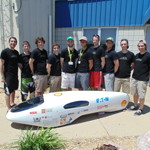 A team from Universite Laval in Quebec, Canada, was the overall winner of this year's Supermileage competition. The team, which received a total score of 1,533 (1,145 mpg plus its Design Report score of 388), will be recognized at the SAE 2014 Commercial Vehicle Engineering Congress held Oct 7-9 in Rosemont, Illinois. (Photo: Business Wire)