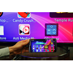 The LG G3 with SlimPort plug-and-play expands applications to big screens, big speakers and big keyboards. (Photo: Business Wire)