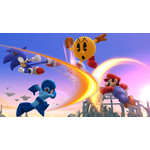 At the E3 video game trade show in Los Angeles, Nintendo revealed that PAC-MAN would be joining the cast of the upcoming Super Smash Bros. games for the Wii U and Nintendo 3DS systems. (Photo: Business Wire)