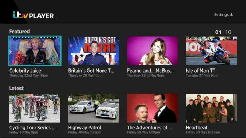 ITV Player on the Roku® streaming platform (Photo: Business Wire)