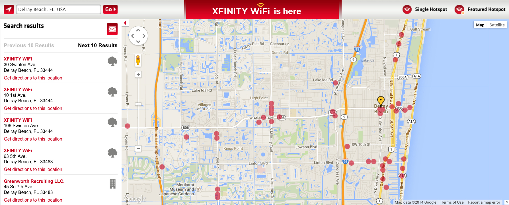 Comcast Turns on Xfinity WiFi Hotspots in Florida Business Wire