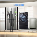 Samsung Electronics America, Inc., America's fastest growing appliance brand and a global category leader, is building strong momentum in 2014 with more new product innovations than ever before. (Graphic: Business Wire)
