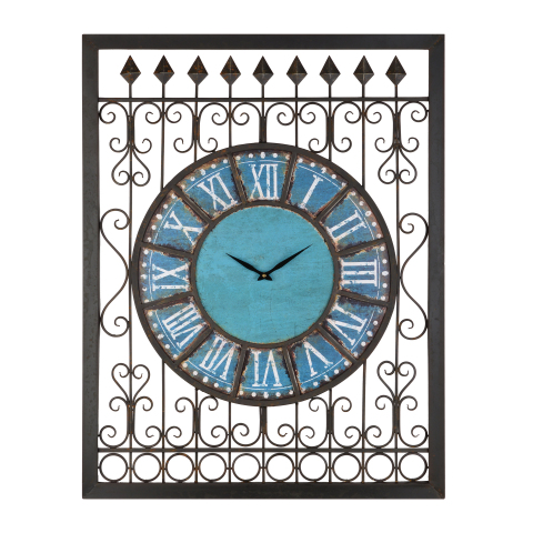 Always know the time with clocks made for your garden. The Azure Metal Outdoor Clock is available online for $149.99. (http://www.kirklands.com/product/Azure-Metal-Outdoor-Clock/177381.uts) (Photo: Business Wire)