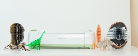 Hobbyists, makers and DIY crafters can now make Autodesk 123D projects using the Cricut Explore machine. (Photo: Business Wire)