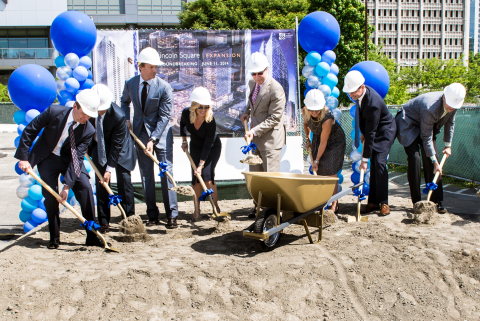 Kemper Freeman of Kemper Development Company breaks ground today on his $1.2 billion mixed-use expansion to The Bellevue Collection in downtown Bellevue, Washington. (Photo: Business Wire)