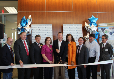 Prince William County local officials and business leaders celebrate the official opening of the Pri ...