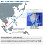 ASE Cable Map (Graphic: Business Wire)