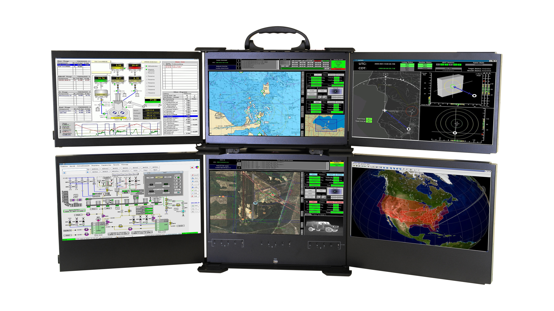 ACME Portable Computer: Mobile command center – FlexPACIII (Photo: Business Wire)
