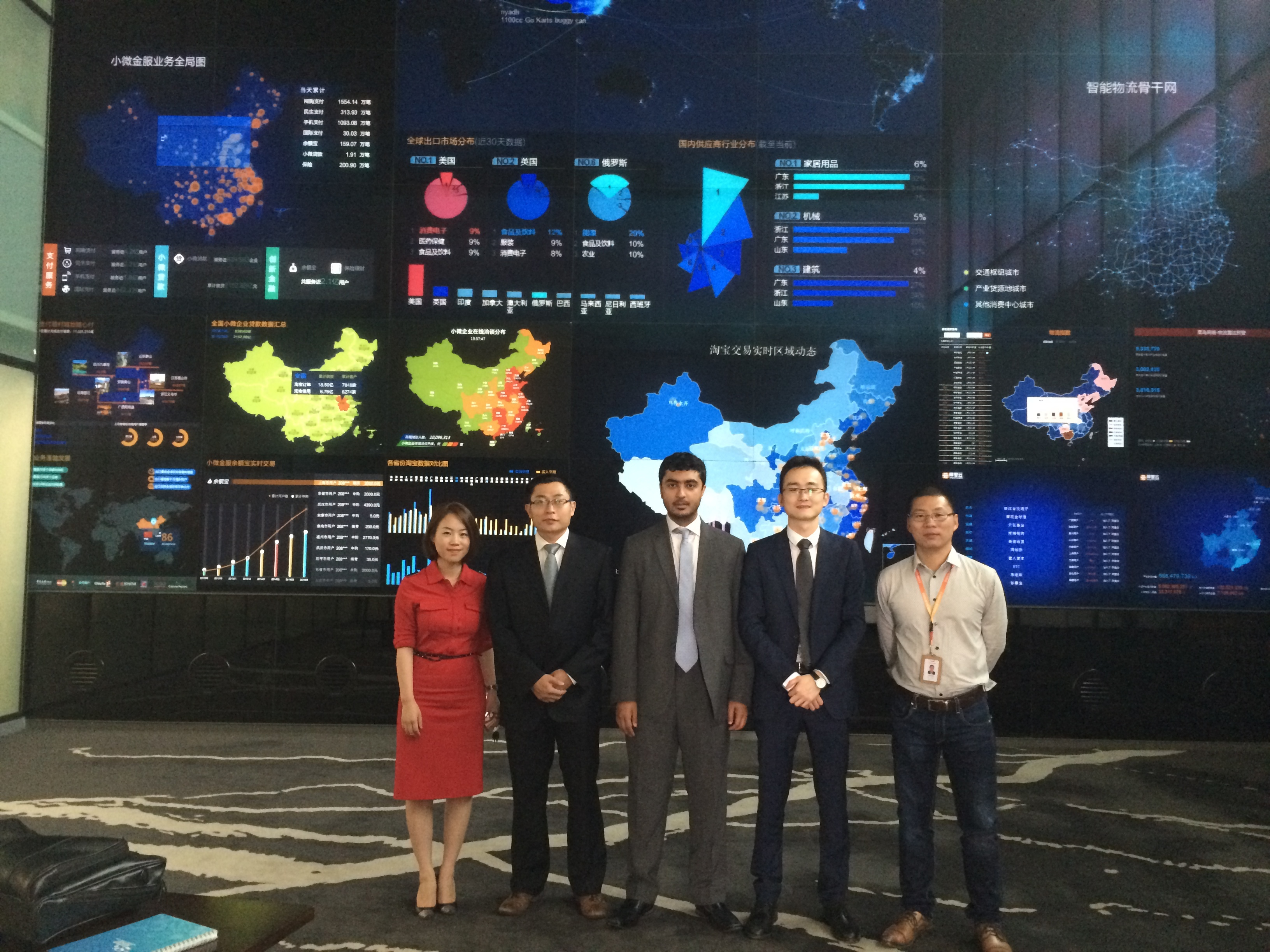 Jafza Group Photo during the roadshow in China (Photo: Business Wire)