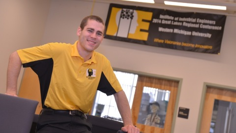 Kyle Croes won the 2014 Institute of Industrial Engineers' James W. Barany Student Award for Excelle ...
