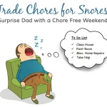 Trade Chores for Snores (Graphic: Business Wire)