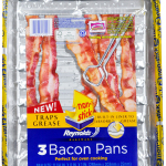Reynolds(R) Disposable Bakeware: New Bacon Pan Absorbs Grease (Photo: Business Wire)