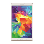 Galaxy Tab S - white 8.4 front (Photo: Business Wire)