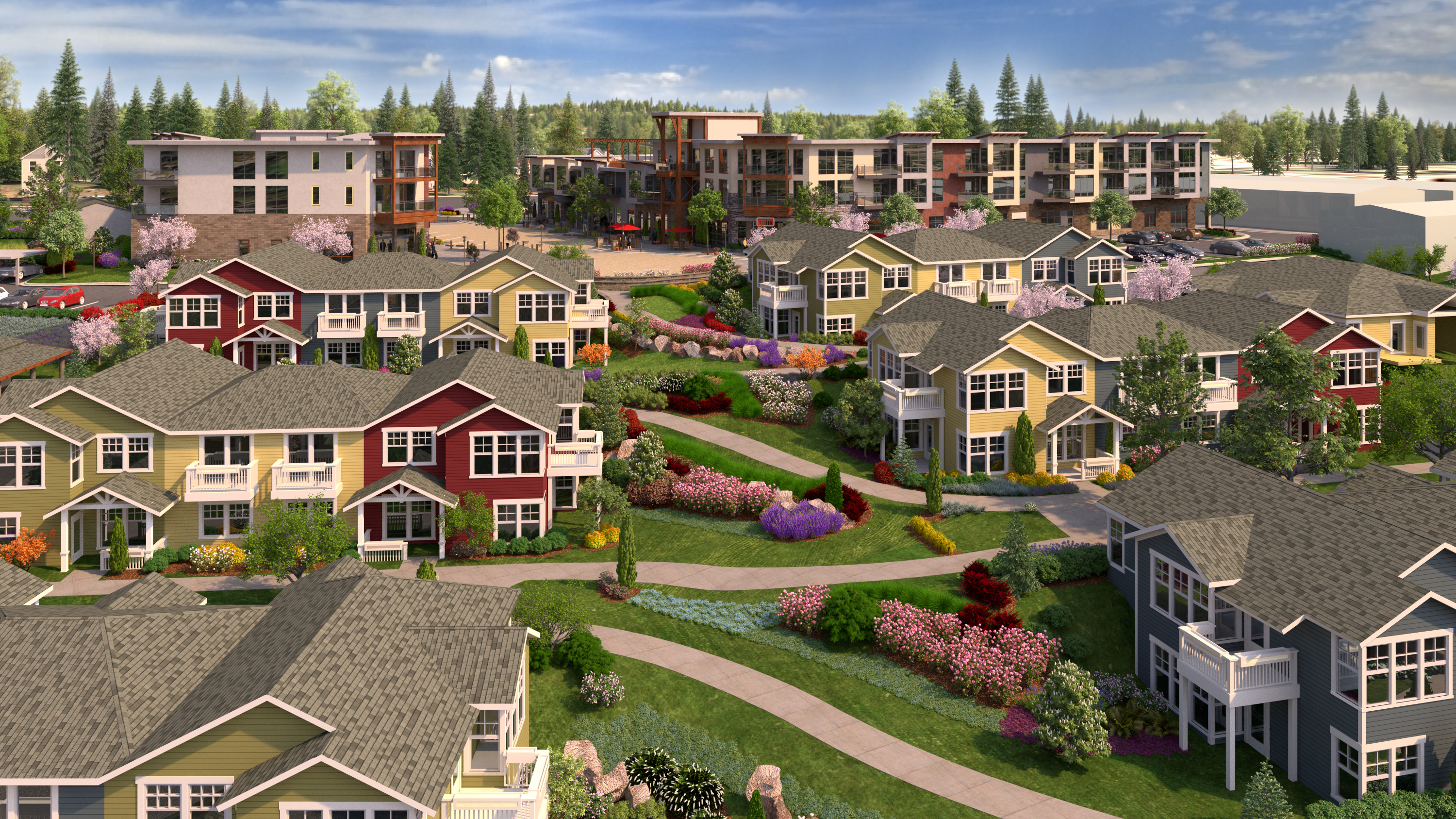 Rose Villa Redevelopment Project Rendering. (Photo: Business Wire)