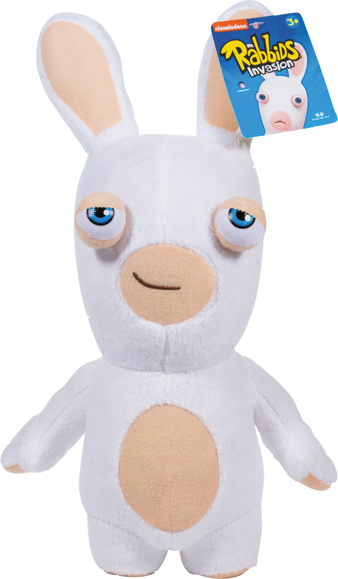 Five uniquely soft, lovable, yet wacky plush Rabbids from McFarlane available at Walmart for $12.97. (Photo: Business Wire)