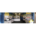 Cartridge World's refreshed Peoria, Ill. store, offering printers, printer repair, ink and toner, paper, copy/print/fax service, shredding and recycling. (Photo: Business Wire)