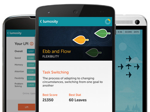 Lumosity Android App (Photo: Business Wire)