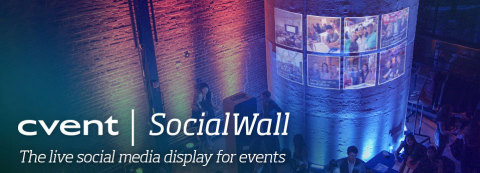 SocialWall - The live social media display for events (Graphic: Business Wire)