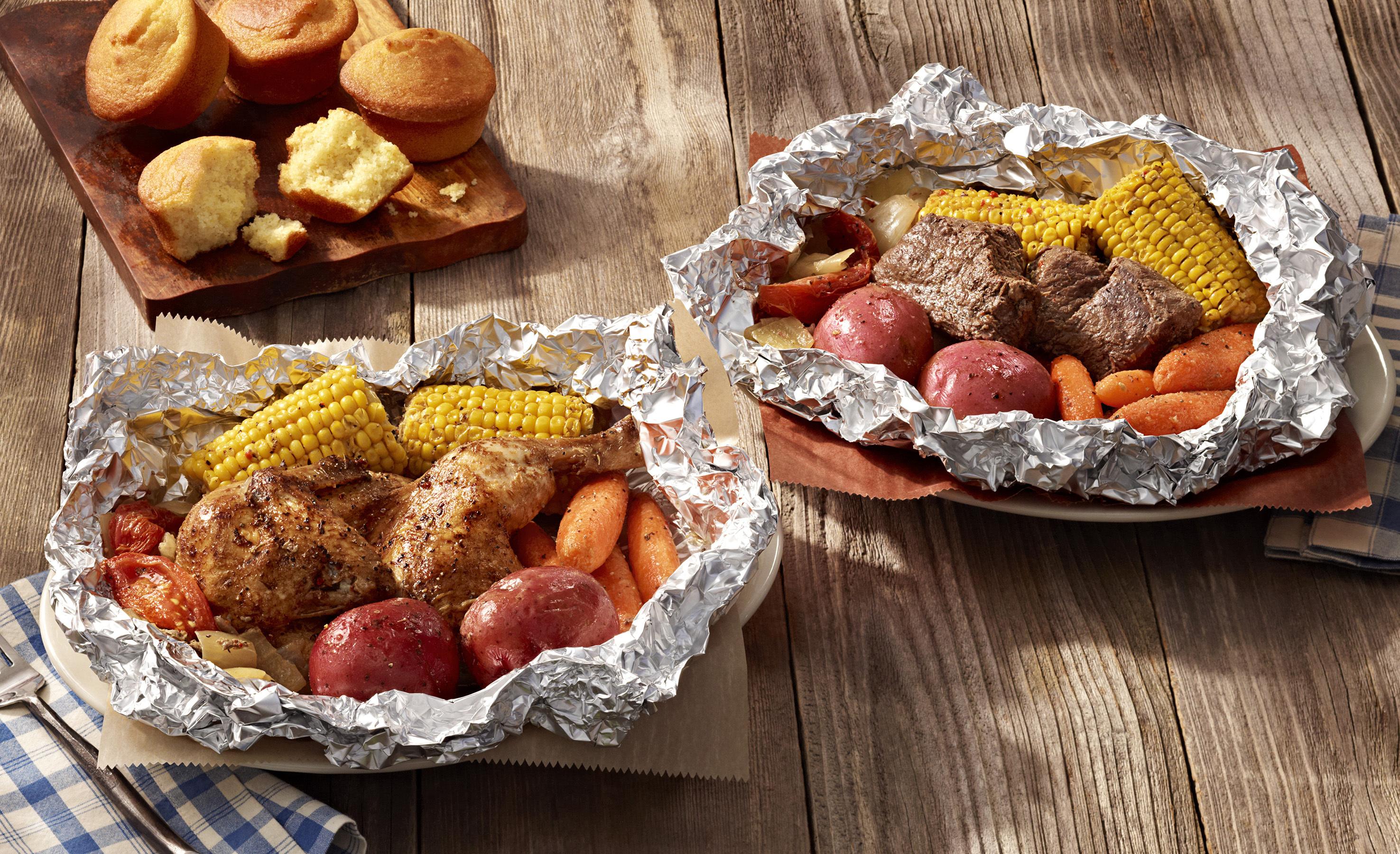 Cracker Barrel Campfire Chicken and Beef