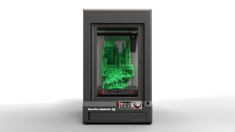 MakerBot announced it is now shipping the MakerBot Replicator Z18 3D Printer to customers. The Maker ...