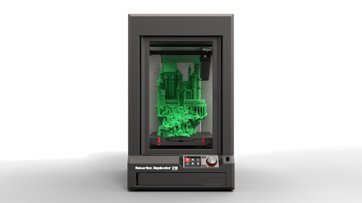 MakerBot announced it is now shipping the MakerBot Replicator Z18 3D Printer to customers. The MakerBot Replicator Z18 is MakerBot's largest 3D printer with a massive build volume and the best price/performance in the extra-large professional 3D printer category. To learn more, visit http://www.makerbot.com/Z18. (Photo: Business Wire)