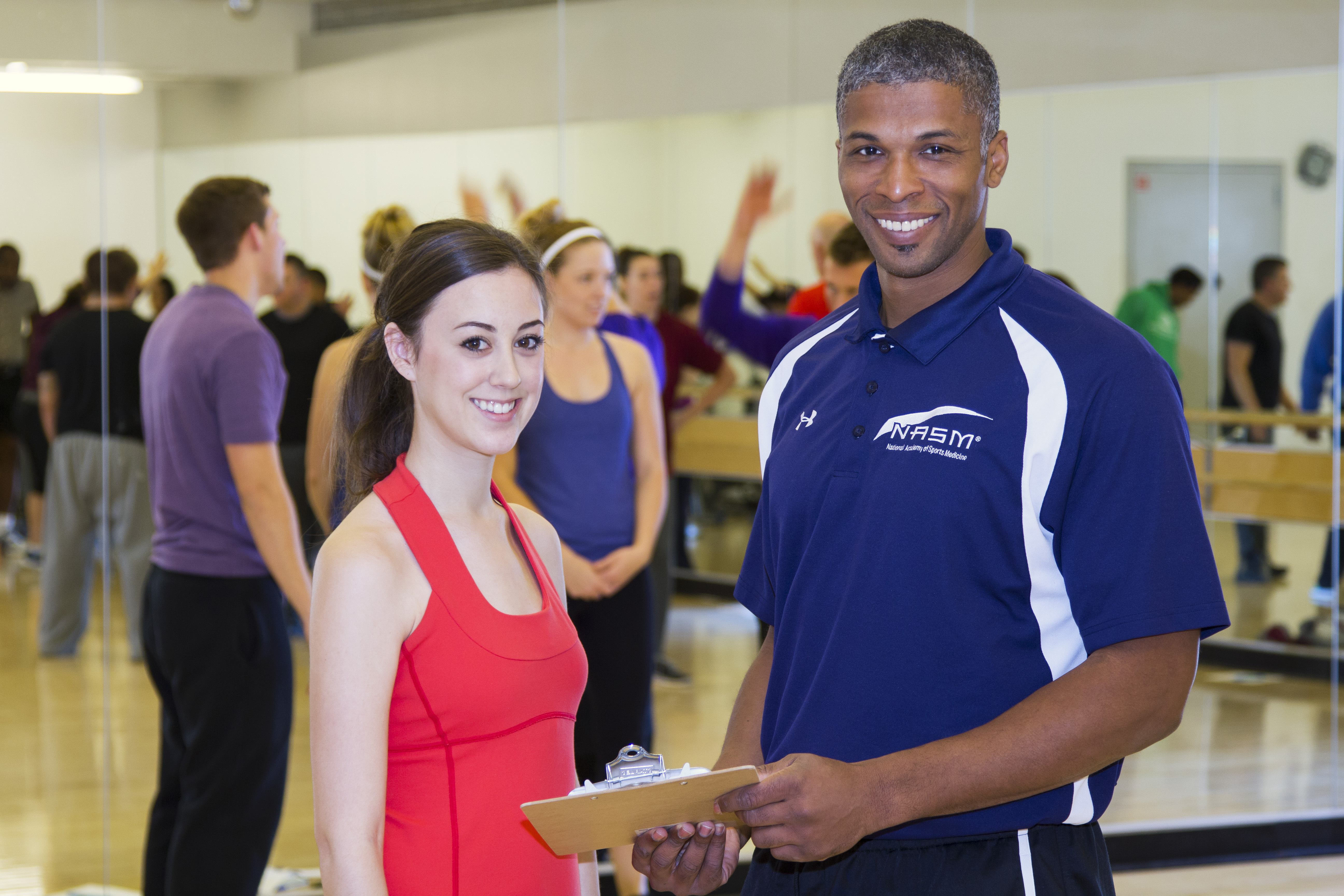 NASM certified personal trainer offering expertise during Fitness Week (Photo: Business Wire)