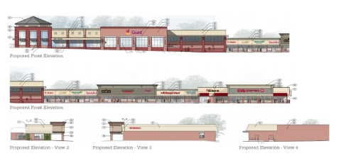 Proposed Kings Park elevations. (Photo: Business Wire)