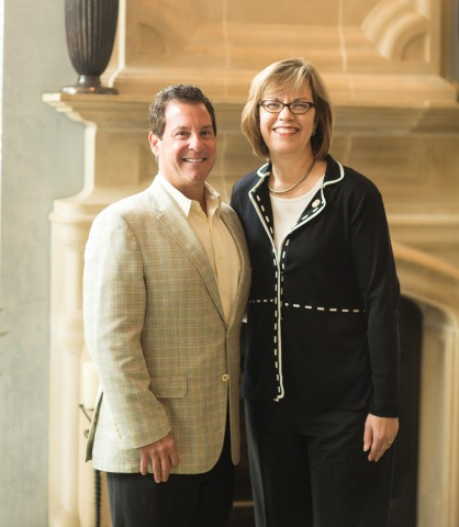 Popeyes CEO, Cheryl Bachelder and Al Copeland, Jr. in historic meeting as Popeyes core recipes change hands (Photo: Christopher Jacob)