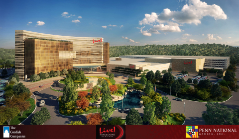 "The Cordish Companies and Penn National Gaming, Inc. - Proposed ""Live! Hotel & Casino New York"" (Photo: Business Wire)"