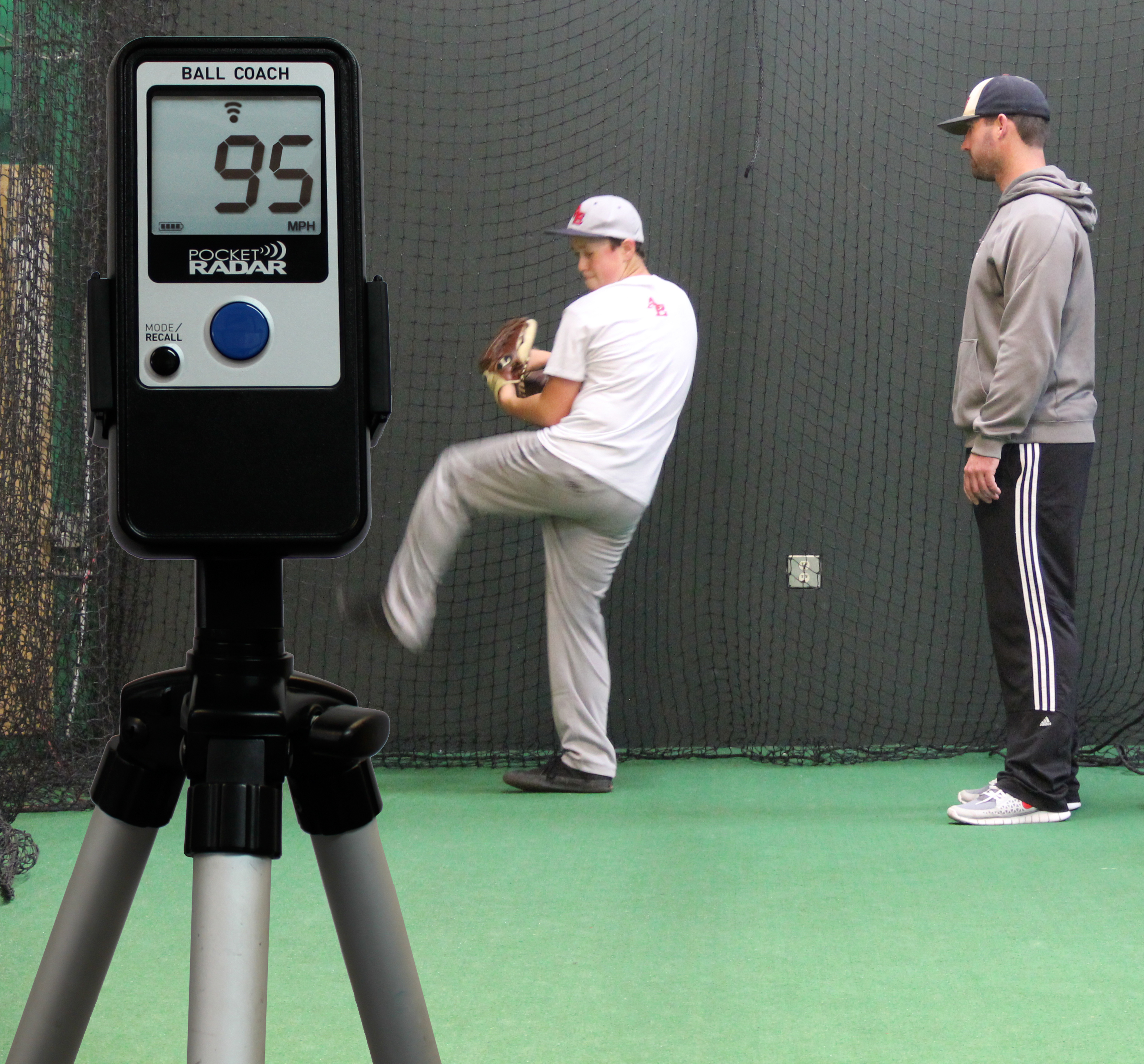 The Pocket Radar Ball Coach Radar is already being used by elite youth coaches as an invaluable tool to develop player pitching and hitting mechanics. (Photo: Business Wire)