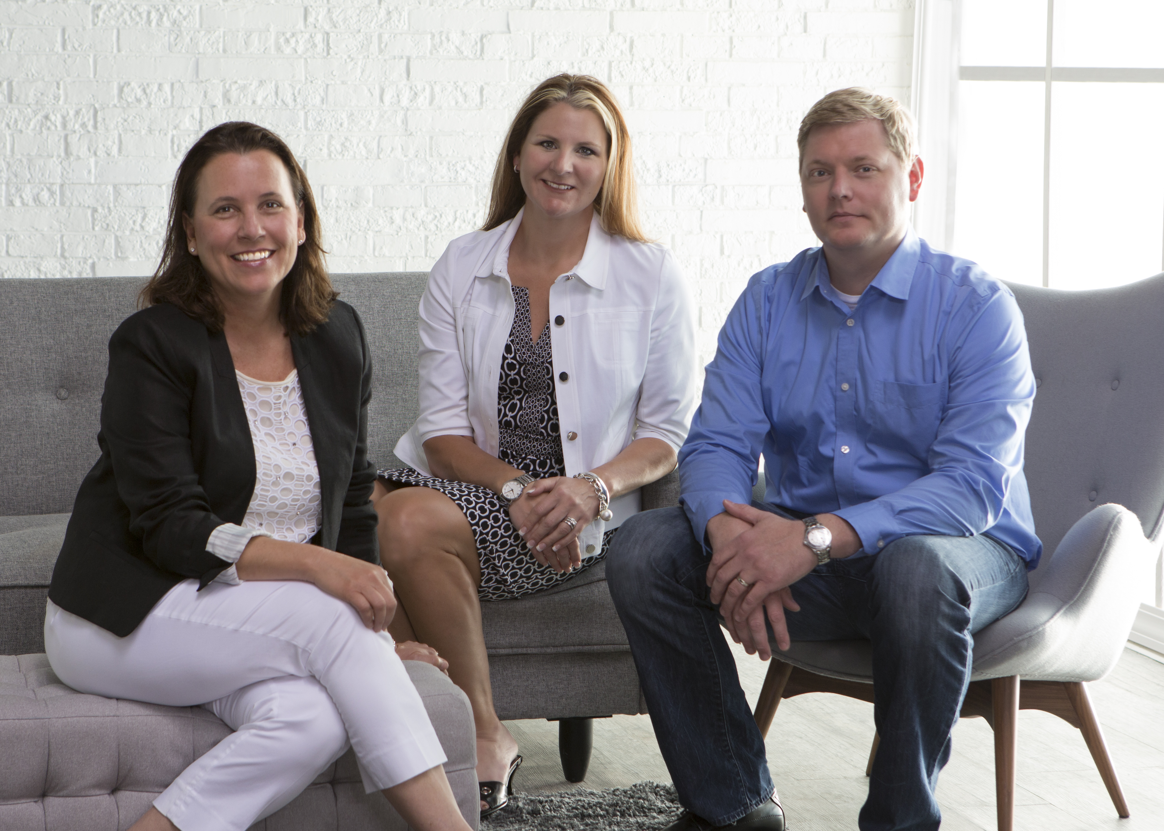 Newest members of Hayneedle's leadership team; from left: Tammy VanDonk, Rebecca Gray and Ryan Paulson. (Photo: Business Wire)