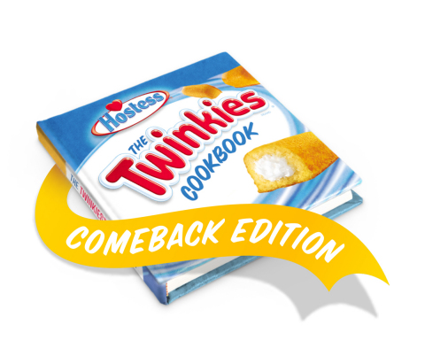 Hostess® invites Twinkies® fans and food fanatics to submit delicious, fun and inventive Twinkies-inspired recipes for a chance to be included in the new edition of The Twinkies Cookbook. (Graphic: Business Wire)