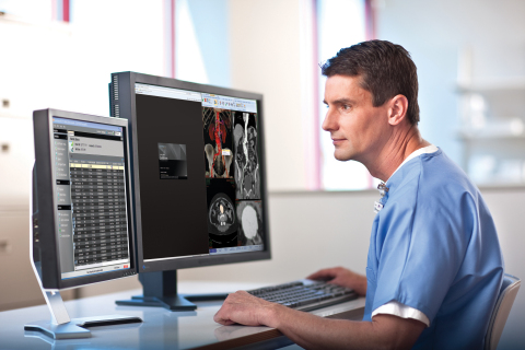 Carestream Vue PACS offers reading tools such as MPR, MIP, MinIP, volume rendering, tissue definition, vessel tracking and cardiac analysis. (Photo: Business Wire)
