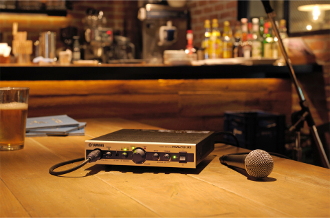 Yamaha Power Amplifier MA2030 application image (Photo: Business Wire)