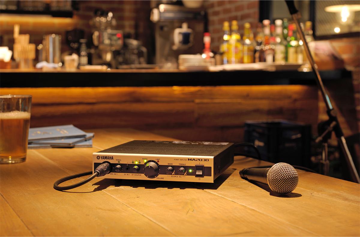 Yamaha Power Amplifier MA2030 application image (Photo: Business Wire)