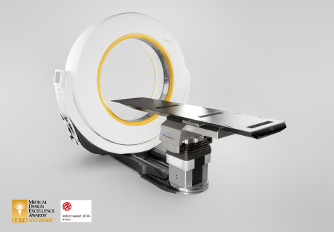 Airo Mobile Intraoperative CT Awarded Gold in Radiological and Electromechanical Device category 2014 Medical Design Excellence Awards (Photo: Business Wire)
