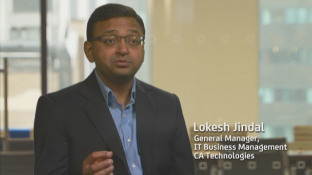 Lokesh Jindal, GM for IT Business Management at CA Technologies, talks about how CA Cloud Service Management delivers rapid value while meeting modern demands for a great user experience which drives adoption.
