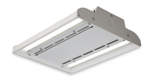 GE's Albeo™ ABV1 Series LED high bay lighting fixture leads the industry with more than 135 lumens per watt. (Photo: General Electric)
